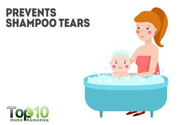 vaseline prevents shampoo tears