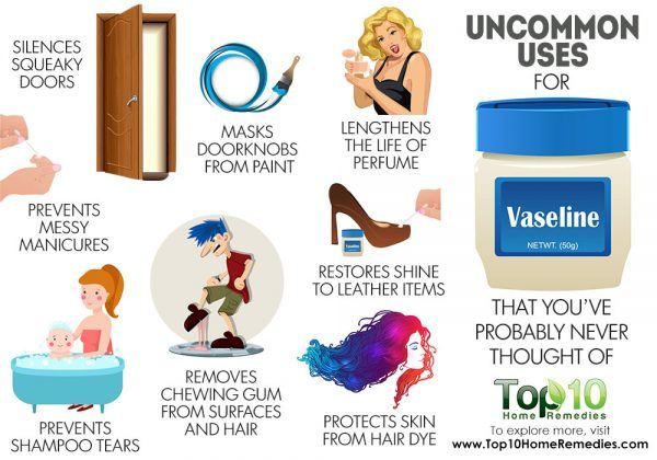 uncommon uses of vaseline