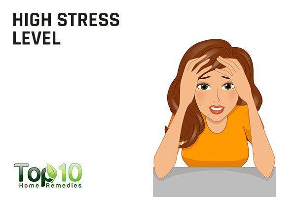 high stress causes irregular menses