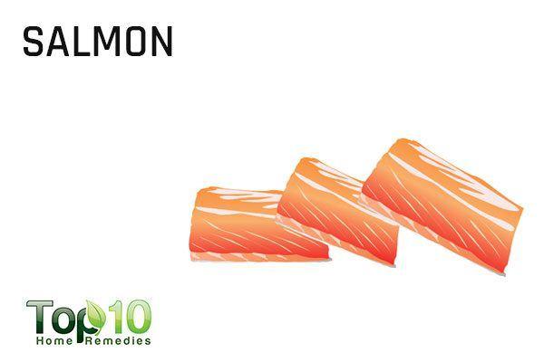 salmon for  for alzheimer's disease