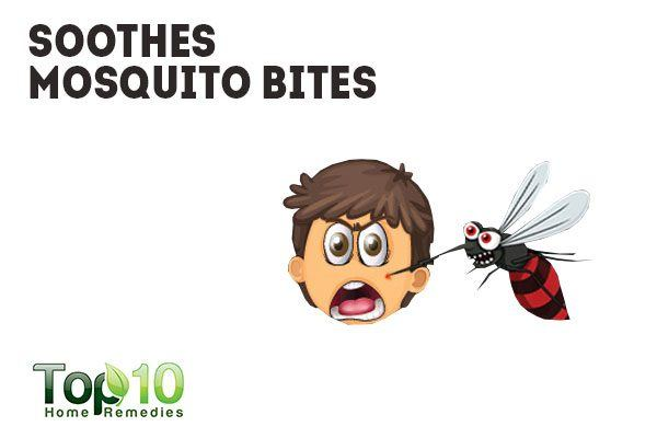 banana peel soothes mosquito bites
