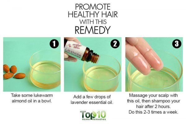 almonds promote healthy hair
