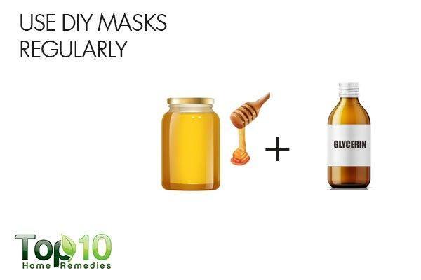 use DIY lip masks regularly