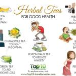 10 herbal teas for good health top 10 home remedieshere are the top 10 herbal teas for good health