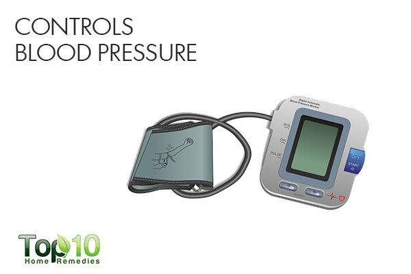 arugula controls blood pressure