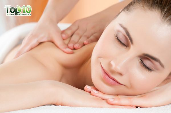 massage to relieve back spasms
