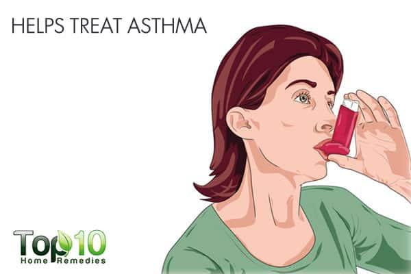 Kiwifruit helps treat asthma