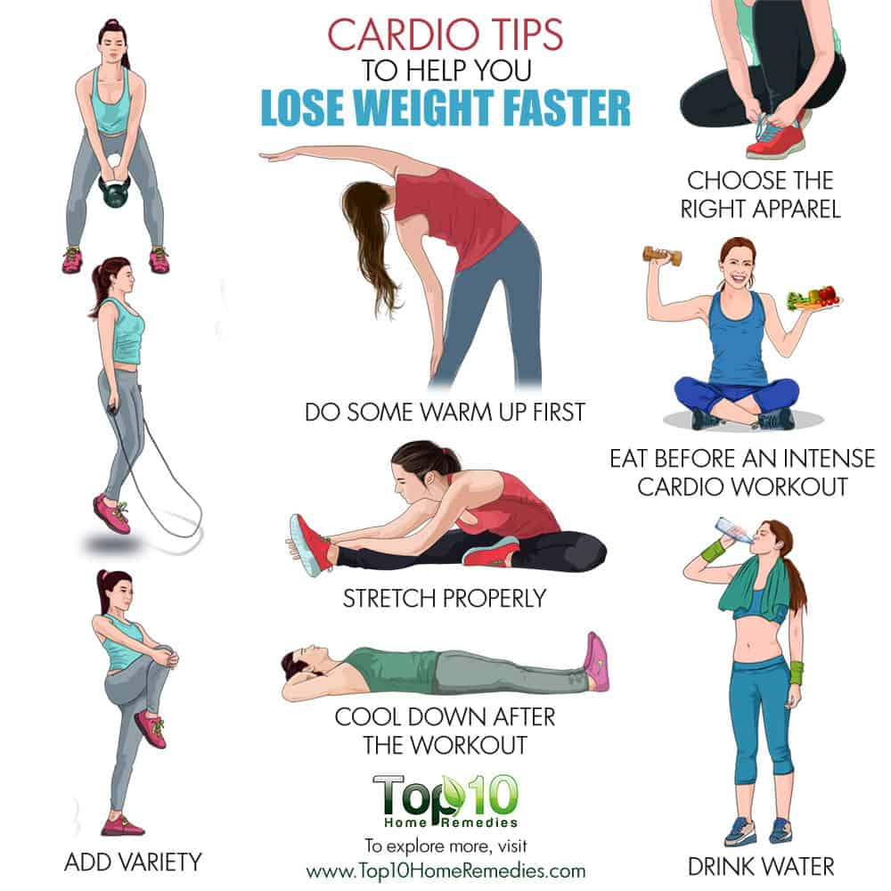 10 Cardio Tips to Help You Lose Weight Faster  Top 10