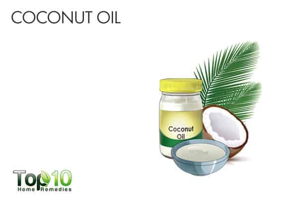 coconut oil for ringworm of the scalp