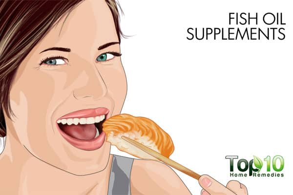 fish oil supplements to get rid of bumps on arms