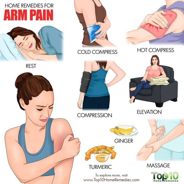 home remedies for arm pain