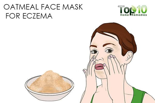 eczema use oatmeal face mask for skin problems