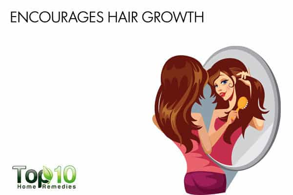 eggs encourage hair growth