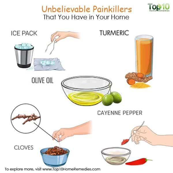 natural painkiller home remedies