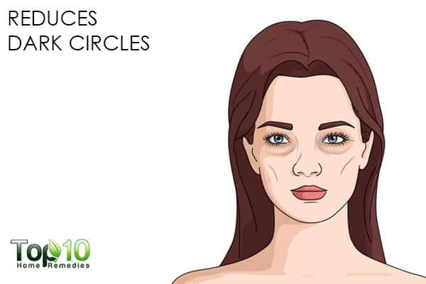 treat dark circles with chamomile for beauty purposes