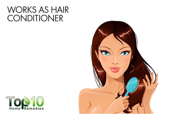 eggs work as hair conditioner