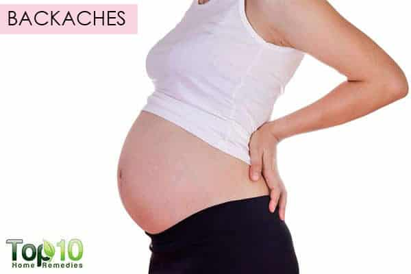 backache during 2nd trimester of pregnancy