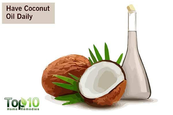 coconut oil to regulate blood sugar