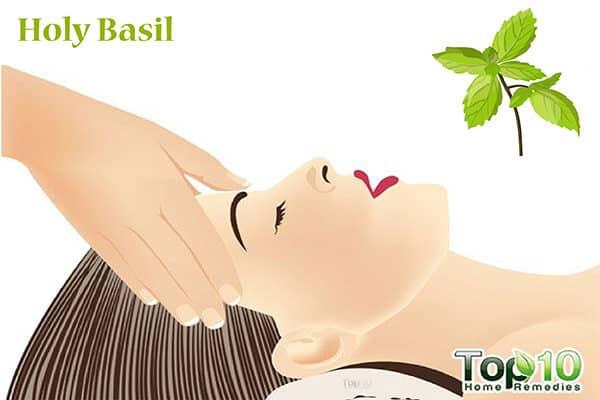 holy basil for hair loss