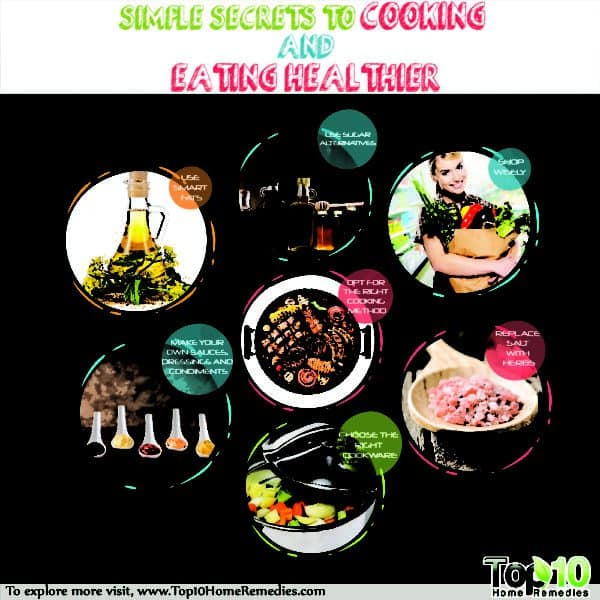 secrets to cooking and eating healthier