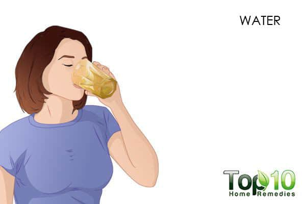 increase wter intake to deal with dry nose
