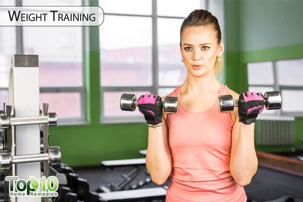 weight training to control diabetes