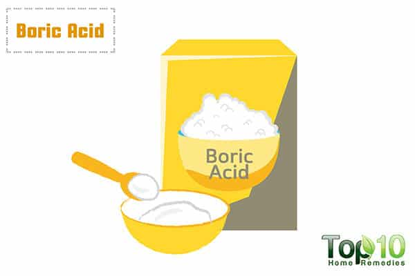boric acid for vaginal itch