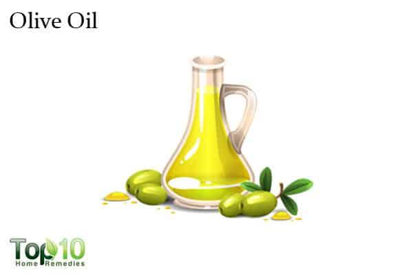 olive oil for wrinkled hands
