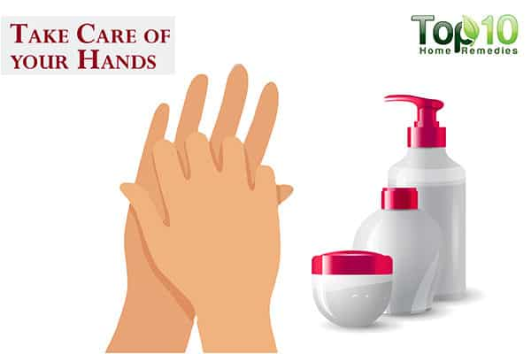 take care of your hands to prevent and treat dark knuckles