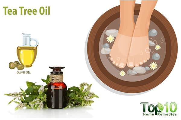 tea tree oil for itching feet