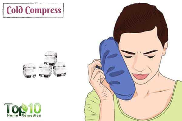 cold compress for TMJ