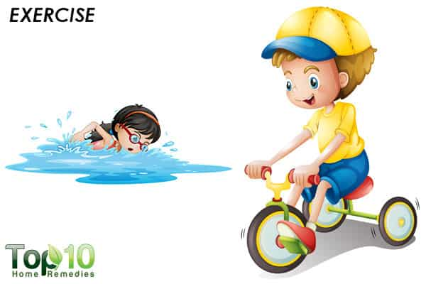 exercise to control asthma in kids