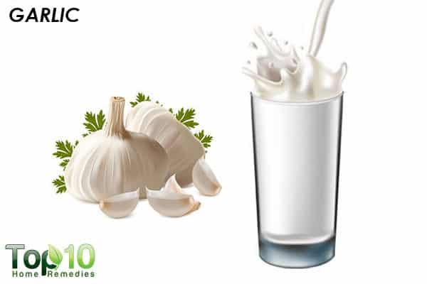 garlic heals asthma in children