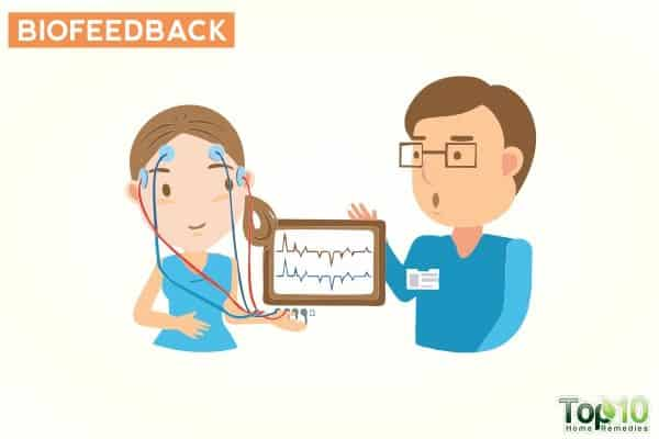 biofeedback to deal with frequent urination