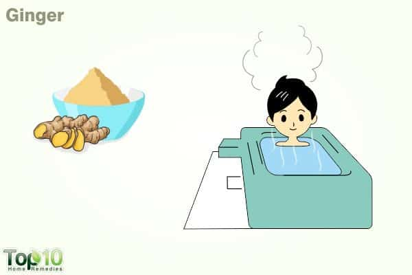 ginger for fever in children
