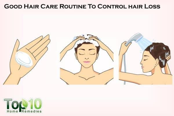 hair care to reduce hair loss