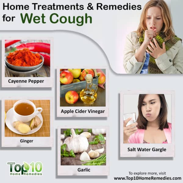 home treatments and remedies for wet cough