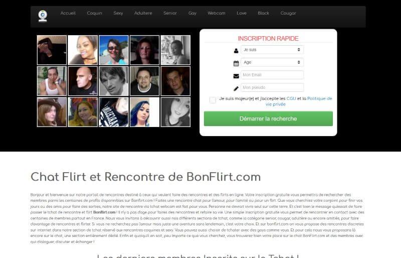 BonFlirt.com - Avis 2017