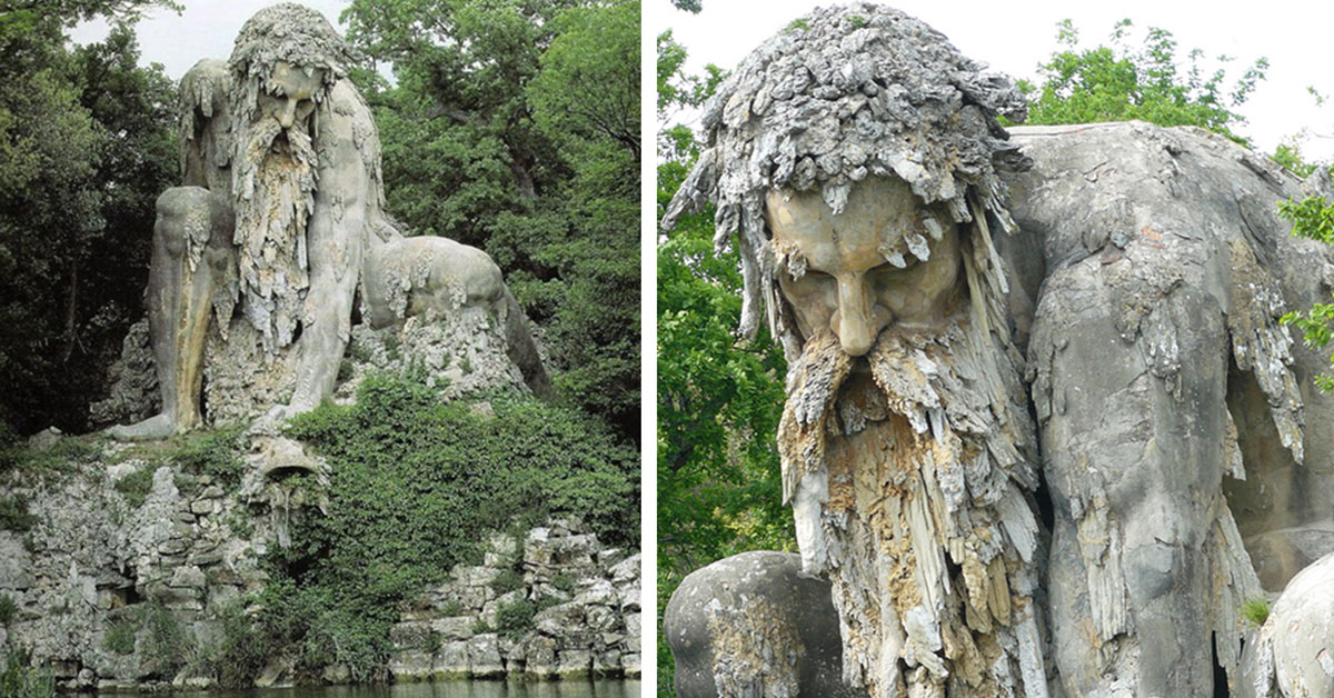 Colossal Sculpture In Italy Has Secret Rooms Inside  Top13