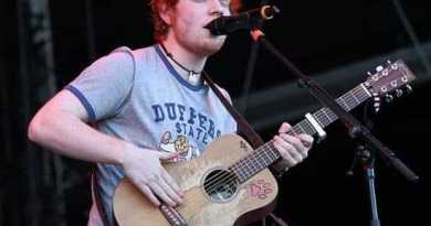 Ed Sheeran hoogste nieuwe binnenkomer