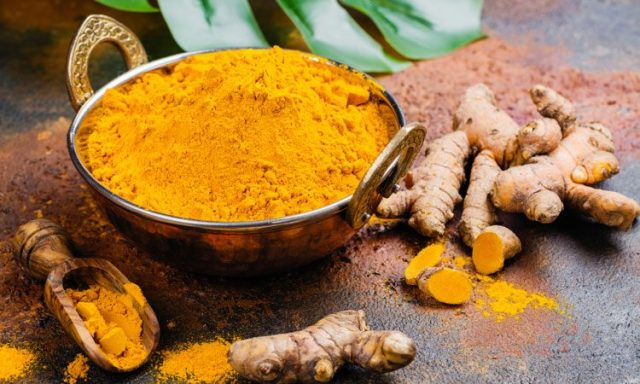 Raw turmeric Root Powder for weight loss top2homeremedies.com
