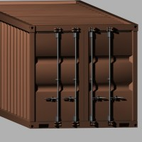 3D MODELS. INDUSTRIAL. Shipping Container