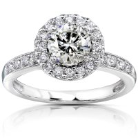 14k-White-Gold-Round-Pave-Diamond-Engagement-Ring | Top 5 ...