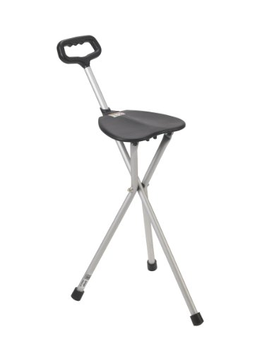 walking stick chair heavy duty wheelchair kitchen design the 5 best folding cane seats ranked product reviews and ratings drive medical deluxe seat review