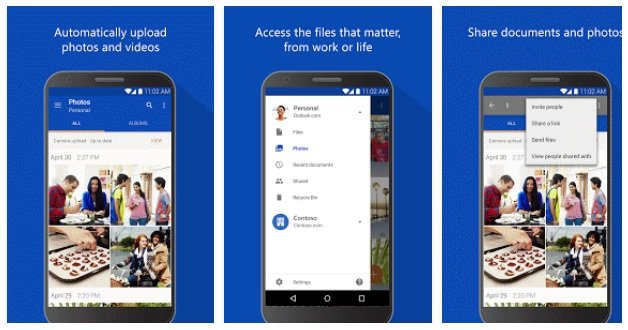 Microsoft OneDrive App