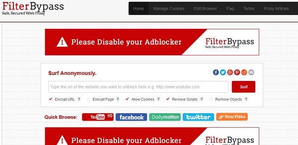 Top 5 Best Working Proxy Sites to Unblock Website (Hide IP