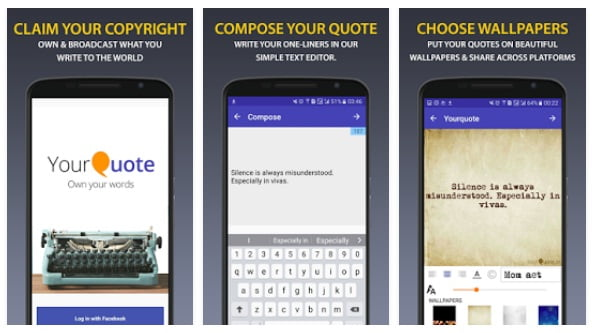 Top 60 Best Quote Maker App For Android To Make Quotes Images Top60z Cool Quotes Maker