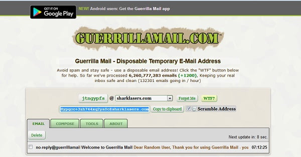 Top 5 Best Disposable Temporary & Fake Email Generator - Top5z