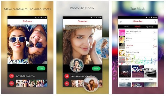 Top 5 Slideshow Maker App for Android (With Photo & Music) - Top5z