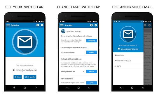fake email id generator app